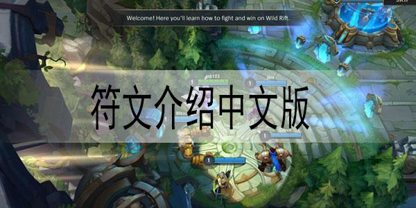 英雄联盟手游符文介绍中文版