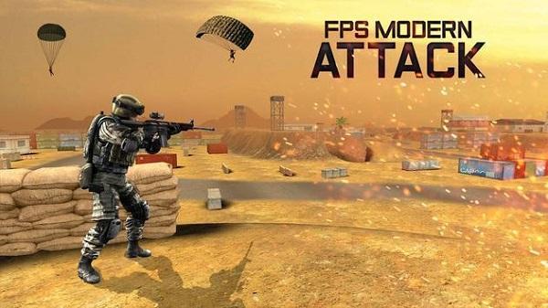 FPS现代战场攻击截图