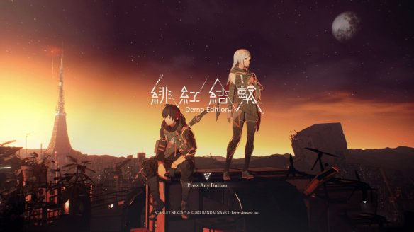 Steam体验版发布二次元RPG《绯红结系》