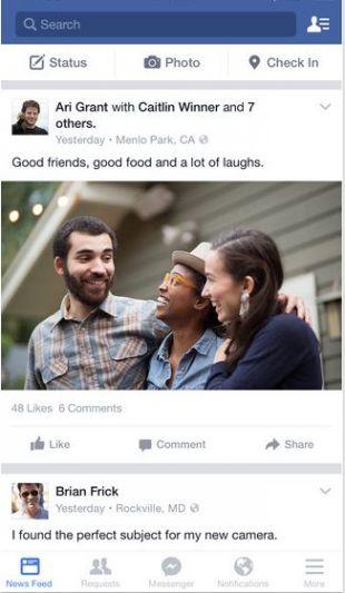 facebook安卓下载最新版截图