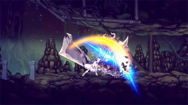 动漫风格2D横版动作游戏《失落史诗》