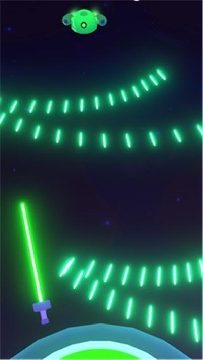 太空激光打击