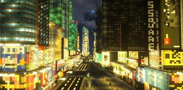 我的世界模拟大都市