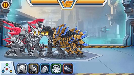 龙兽争霸无限零件版