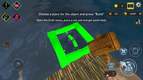 木筏求生海洋模拟