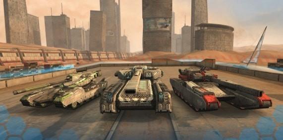 全民造坦克