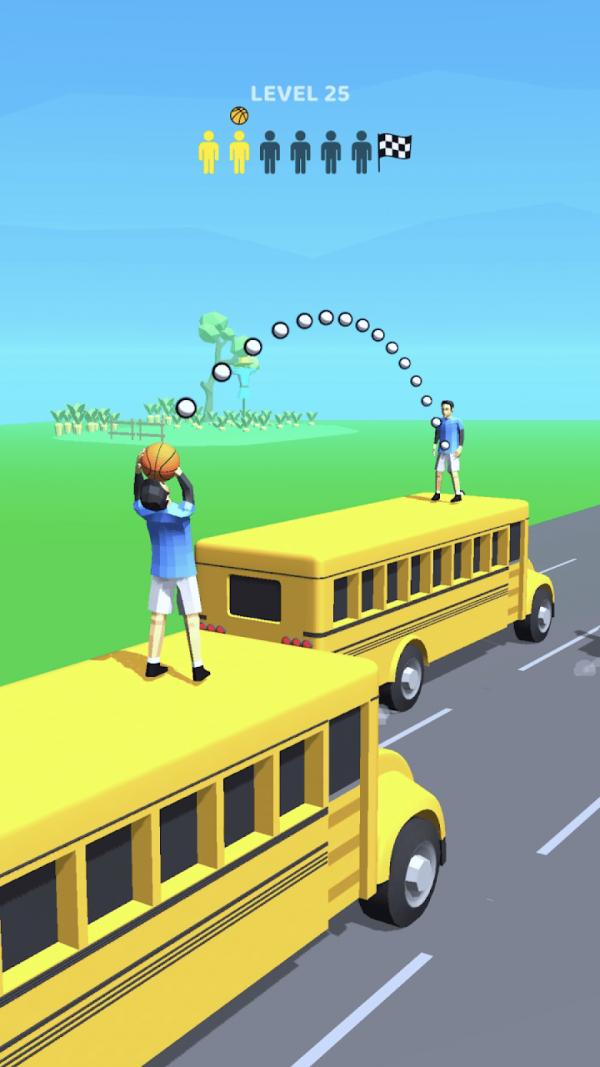 道路扣篮3D