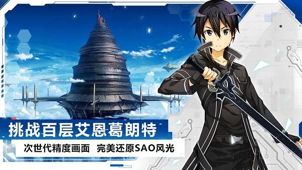 刀剑神域黑衣剑士王牌测试服