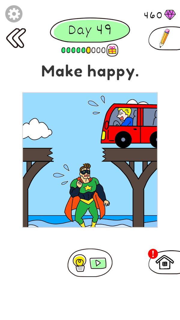 绘画快乐英雄