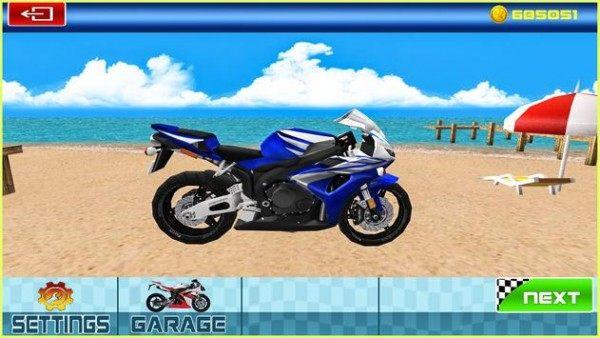 摩托骑士特技赛车